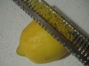 ralladura limón