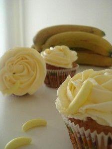 cupcakes plátano
