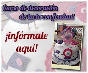 Curso de iniciacion a la de decoracion de tartas fondant
